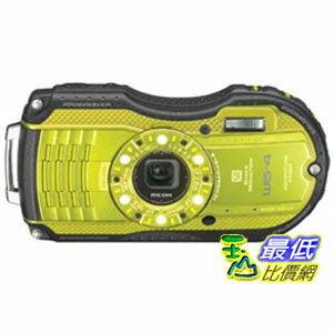 [103 美國直購 ShopUSA] Ricoh 攝像頭 WG-4 Lime Yellow 16Digital Camera with 4x Optical Zoom with 3-Inch LCD (Lime Yellow) $9999