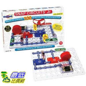 [103 美國直購] Elenco Electronic Snap Circuits, Jr. Kit DIY  100-in-1 SC-100 動動腦 電子益智品 $1398