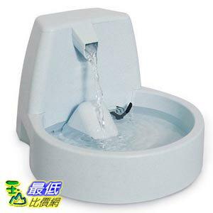 [103美國直購] Drinkwell 迷你版 好好喝瀑布式噴泉電動飲水機 Platinum Pet Fountain 50-Ounces with Replaceable Filter $2998