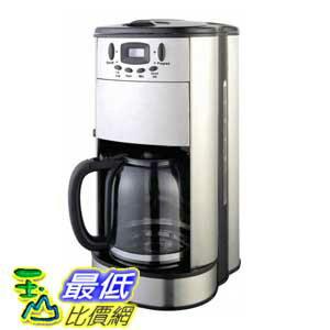 [美國直購 ShopUSA] Frigidaire 咖啡壺 FD7188 12 cup Stainless Steel Programmable Coffee Maker with Coffee Grinder 220-240 VOLT 50HZ (NON-USA Compliant Model) $5390