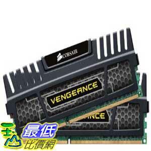 [美國直購 ShopUSA] Corsair 台式機內存 Vengeance 16GB (2x8GB) DDR3 1600 MHz (PC3 12800) Desktop Memory (CMZ16G..