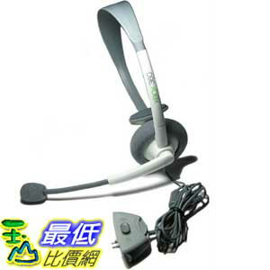 [美國直購 ShopUSA]  New Official 有線耳機麥克風 Microsoft Wired Headset & Mic for Xbox 360   $658
