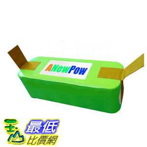 [18個月保固] ANewPow AP4400 for IRobot Roomba 500,600,700,800系列,Scooba 450 高容量鋰電池 4400mah 贈黃色濾網三片及6腳邊刷*1