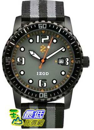 [美國直購 USAShop] Izod 手錶 Men's Watch IZS3/1.Black.Grey _mr   $2003