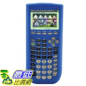 [美國直購 ShopUSA] 保護套 Guerrilla Blue Silicone Case For Texas Instruments TI 84 $900