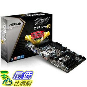 [美國直購 ShopUSA] ASRock 主機板 LGA1155/Intel Z75/DDR3/Quad CrossFireX /CrossFireX/SATA3/US... Motherboard..