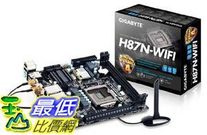 [美國直購 ShopUSA] Gigabyte 主機板 LGA 1150 Intel H87 HDMI SATA 6Gbps USB 3.0 Mini ITX DDR3 1600 Intel Moth..