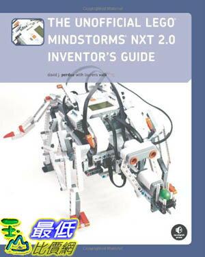 [美國直購 ShopUSA] The Unofficial 指南 LEGO MINDSTORMS NXT 2.0 Inventor's Guide  $1203