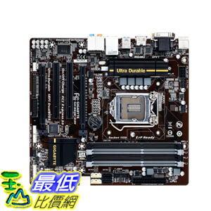 [美國直購 ShopUSA] Gigabyte 主機板 LGA 1150 Intel B85 HDMI SATA 6Gbps USB 3.0 Micro ATX DDR3 1600 Intel Motherboards GA-B85M-D3H $3559
