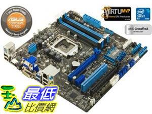 [美國直購 ShopUSA] ASUS 主機板 P8H77-M/CSM LGA 1155 Intel H77 HDMI SATA 6Gb/s USB 3.0 Micro ATX Intel Motherboard $4567