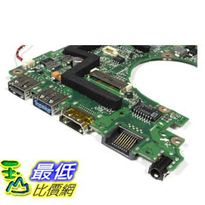 [美國直購 ShopUSA] Asus 主機板 Q200E X202E Series Motherboard With Intel i3-2365m CPU 60-NFQMB1800 Win8 $57..