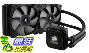 [美國直購 ShopUSA] Corsair 散熱器 Hydro Series Extreme Performance Liquid CPU Cooler H100i $4699
