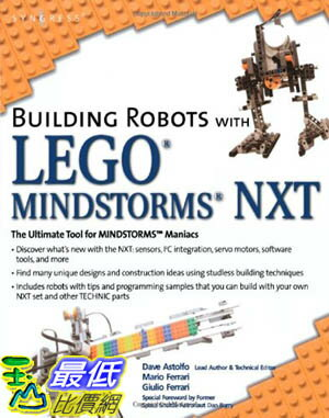[美國直購 ShopUSA] Building 建築機器人 Robots with LEGO Mindstorms NXT $1410