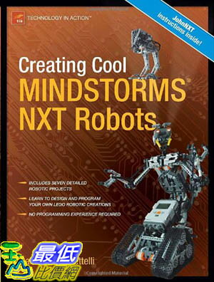 [美國直購 ShopUSA] Creating 機器人(技術動作)Cool MINDSTORMS NXT Robots (Technology in Action) [Paperback] $1390