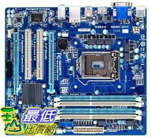 [美國直購 ShopUSA] Gigabyte 主機板 LGA 1155 Intel B75 SATA 6Gb/s USB 3.0 Micro ATX DDR3 1600 Motherboards G..