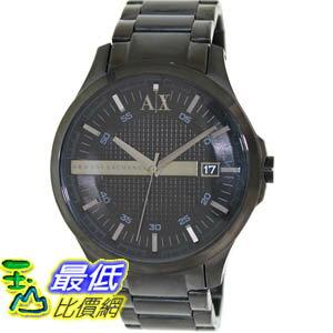 [美國直購 ShopUSA] Armani Exchange 手錶 Men's AX2104 Black Stainless-Steel Quartz Watch with Black Dial #1681892563 _mr