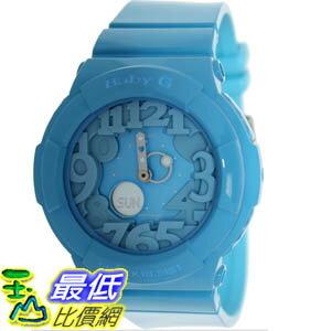 [美國直購 ShopUSA] Casio 手錶 Women's Baby-G BGA130-2B Blue Resin Quartz Watch with Blue Dial #1681896892 _mr