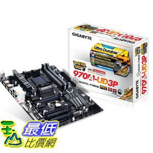 [103美國直購 ShopUSA] Gigabyte 主機板 AM3+ AMD 970 SATA 6Gbps USB 3.0 ATX DDR3 1800 AMD Motherboard GA-970A..