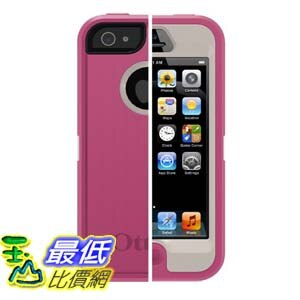 [103美國直購 USAShop] OtterBox 保護套 Defender Series Case for iPhone 5 - Retail Packaging - Pink $990
