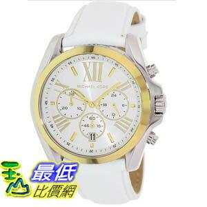 [美國直購 ShopUSA] Michael Kors 手錶 Women's Bradshaw MK2282 White Leather Quartz Watch with White Dial #1681891862 _mr $6184