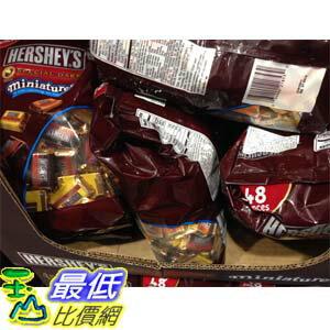 [103玉山網] COSCO HERSHEY'S 迷你黑巧克力塊1.36公斤 C107780