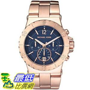 [美國直購 ShopUSA] Michael Kors 手錶 Women's MK5410 Rose-Gold Stainless-Steel Quartz Watch with Blue Dial #1681876349 _mr $7022