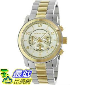 [美國直購 ShopUSA] Michael Kors 手錶 Men's Runway MK8098 Two-Tone Stainless-Steel Quartz Watch with Gold Dial #1681898402 _mr $6906