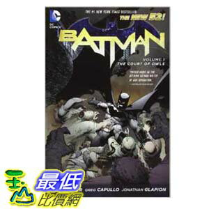 [103美國直購 ShopUSA] Batman Vol. 1: The Court of Owls (The New 52)  $602