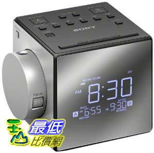 [美國直購] 鬧鐘收音機 SONY ICF-C1PJ 投影式雙鬧鐘電子鬧鐘 Alarm Clock Radio ICFC1PJ CC0