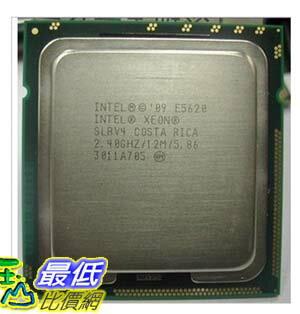 [103 玉山網 裸裝] INTEL 至強E5620 最新32納米 2.4 GHz 伺服器CPU 散片 $13790