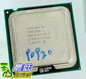 [103玉山網 裸裝二手] Intel 奔騰D雙核 920(散)/正式版 $549