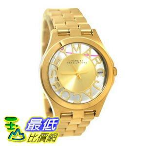 [103美國直購] Marc by 手錶 March Jacobs Henry Skeleton Gold Tone Link Watch MBM3292 $7423