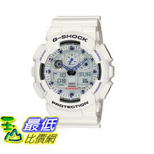 [103美國直購] Casio 手錶 White and Blue Men\