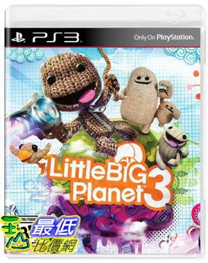 [現金價] PS3 小小大星球 3 初回特典版 亞洲中英文合版 $1450