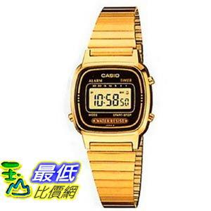 103美國直購  Casio 手錶 Gold~tone Women #x27 s LA6