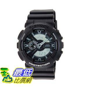 [103美國直購] Casio 手錶 Grey Men's GA110C-1A G Shock Analog/Digital Resin Strap Watch