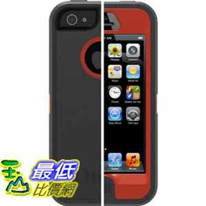 [美國直購 ShopUSA] OtterBox 保護套 77-22116 Bolt Red Defender Series Case for iPhone 5 - Retail Packaging