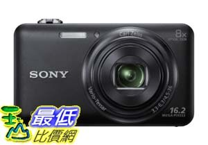 [美國直購 ShopUSA] Sony 數碼相機 DSC-WX80/B 16 MP Digital Camera with 2.7-Inch LCD (Black)