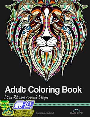 104美國直購  2015 美國暢銷書 Adult Coloring Book