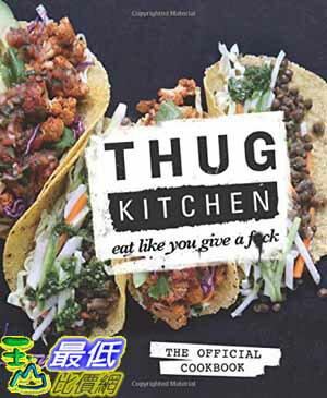 104美國直購  2015 美國暢銷書Thug Kitchen: The Officia