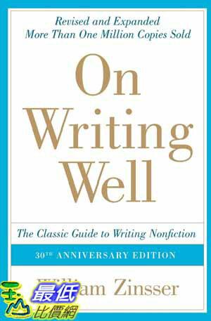 [104美國直購]  2015 美國暢銷書 30th Anniversary Edition: The Classic Guide to Writing Nonfiction