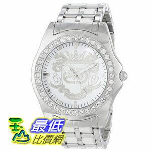 [104美國直購] Marc Ecko Men's E95016G6 White Dial Bracelet Watch