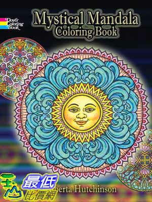 ^~104美國直購^~ 2015 美國暢銷書 Mystical Mandala Color