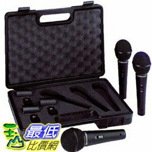 <br/><br/>  [104美國直購] 德國 動圈式 麥克風 3入 Behringer ULTRAVOICE XM1800S Dynamic Cardioid Vocal Microphones 3-Pack<br/><br/>