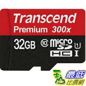104美國直購  Transcend 存儲卡 TS32GUSDU1E 32GB Micr