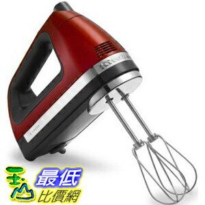 [104美國直購] 手動 攪拌機 KitchenAid KHM920A 9-Speed Hand Mixer candy apple red - With