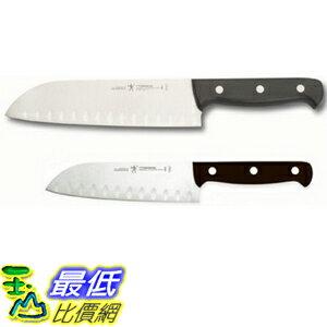 [104美國直購] 德國雙人國際 三德刀 不鏽鋼廚房刀二入組 31442-000 J.A. HENCKELS INTERNATIONAL Fine Edge Pro 2-pc Asian Knife ..