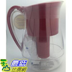 [104直購] Brita 新型紅色濾水壺 Monterey Pitcher 含兩組圓形傳統濾心 _TA1