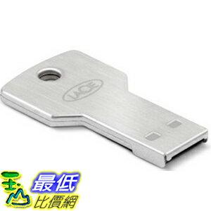 [104美國直購] 防水 金屬材質 鑰匙型 隨身碟 9000347 LaCie PetiteKey 16GB USB Flash Drive 100公尺