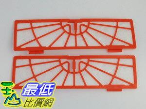 [現貨 相容型] Neato BotVac 紅色 濾網 Series Standard Filter 70e 75 80 85 二入裝 $240